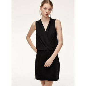 Aritzia Babaton Phoenix Matte Satin Mini Dress